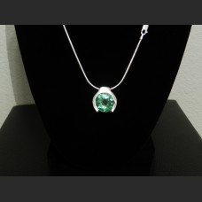 Green Sapphire Hanging Mount