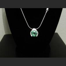 Green Sapphire Hanging Mount